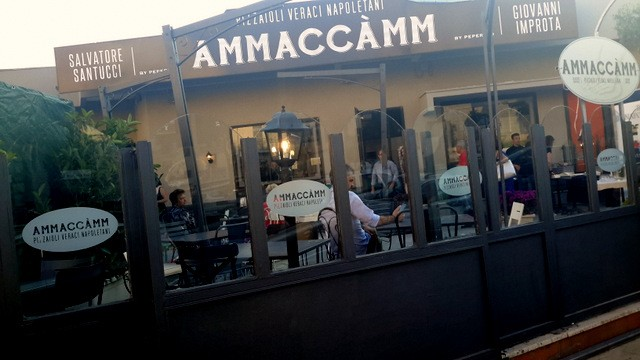 Ammaccamm  la nuova pizzeria con Santucci e Improta a Pozzuoli