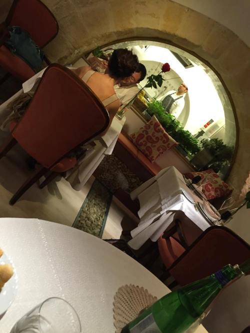 Bacco a Barletta, la cucina a vista