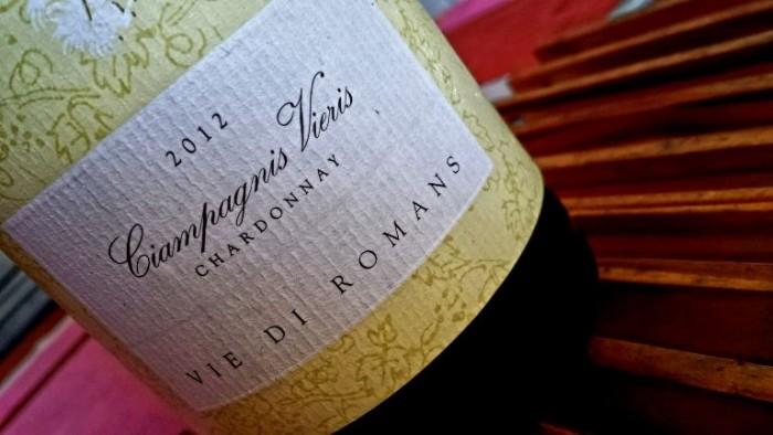 Chardonnay Ciampagnis Vieris 2012, Vie di Romans