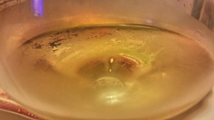 Chardonnay Ciampagnis Vieris nel bicchiere