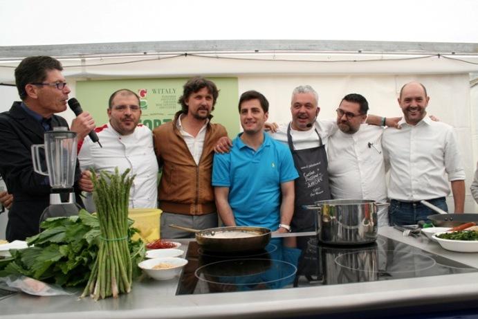 Corto Circuito dei Contadini, alcuni degli chef