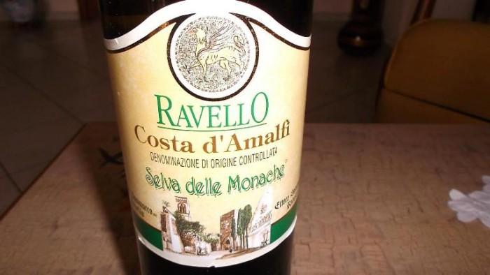 Costa d'Amalfi Ravello Bianco Selva delle Monache Doc Ettore Sammarco