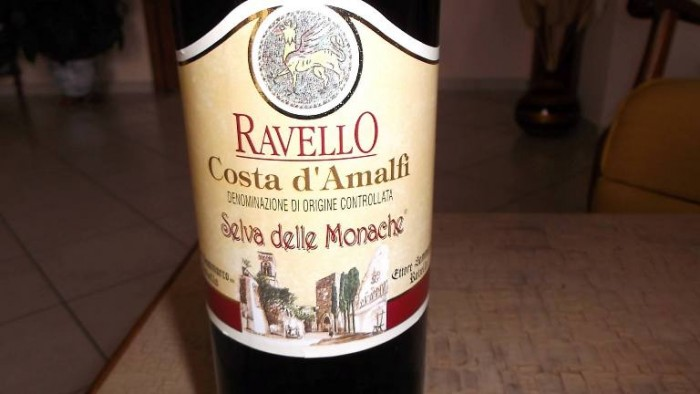 Costa d'Amalfi Ravello Rosso Selva della Monache Doc Ettore Sammarco