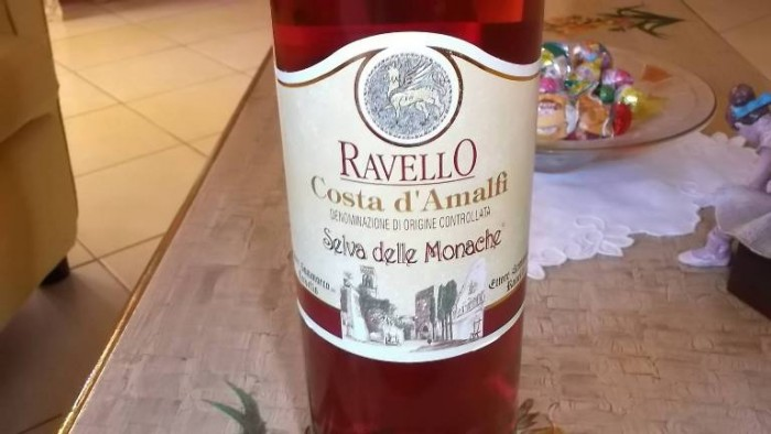 Costa d'Amalfi Selva delle Monache Rosato Doc Ettore Sammarco