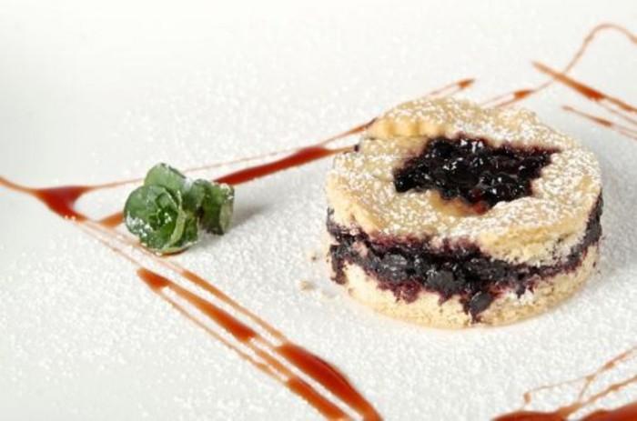 Crostata con confettura di sambuco di Peppe Zullo