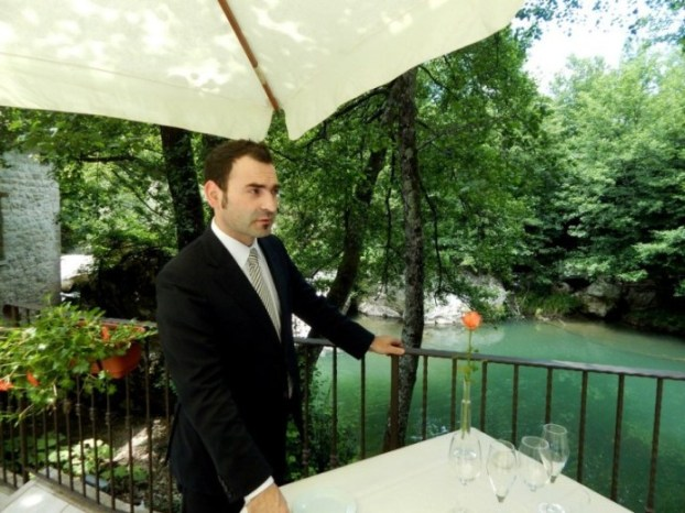 Daniele Del Polito, maitre e titolare