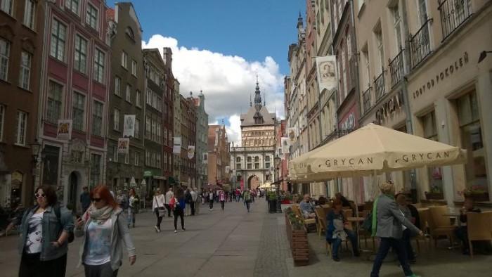 Danzica, il centro della città vecchia