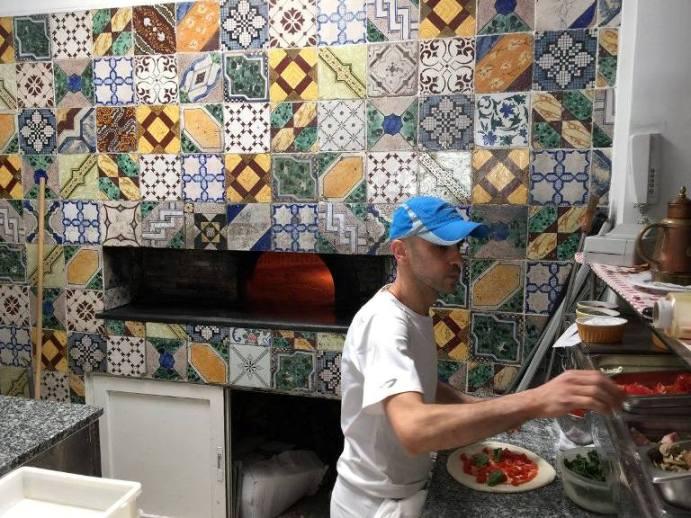 Al Caprì Don Alfonso Cafè, l'angolo della pizza