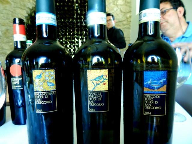 Falanghina del Sannio, Fiano di Avellino e Greco di Tufo 2014