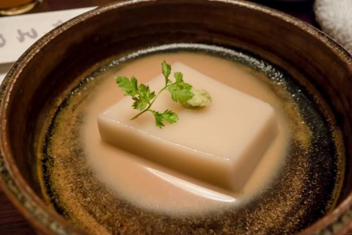 Goemon, Tofu e wasabi