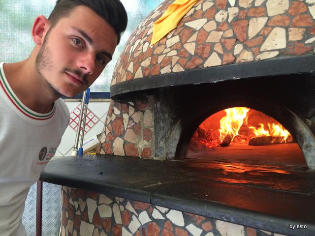 Trattoria Caprese al Vomero il forno
