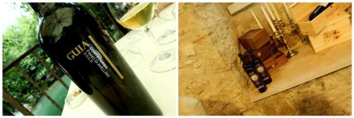 Il Vecchio Mulino, i vini