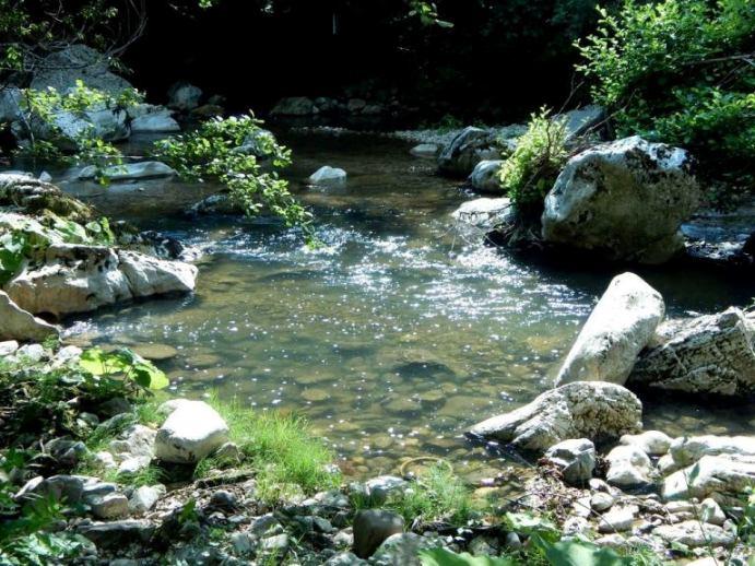 Il Vecchio Mulino, il fiume