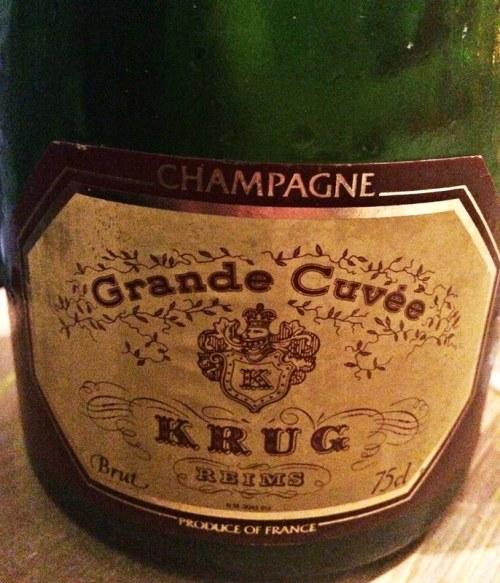 Krug Grande Cuvée