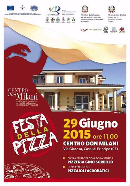 La Festa della Pizza sbarca a Casal di Principe con Gino Sorbillo