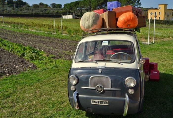 La Fiat 600 protagonista del viaggio di Peppe Zullo verso l'EXPO di Milano