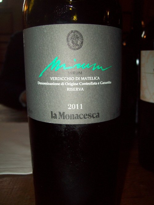 """La Monacesca - Verdicchio di Matelica """"Mirum"""" 2011"""