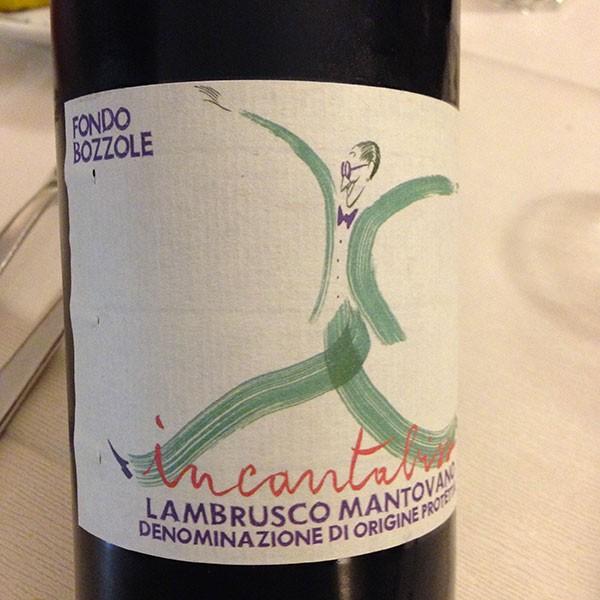 Lambrusco Mantovano Incantabiss 2013 Fondo Bozzole