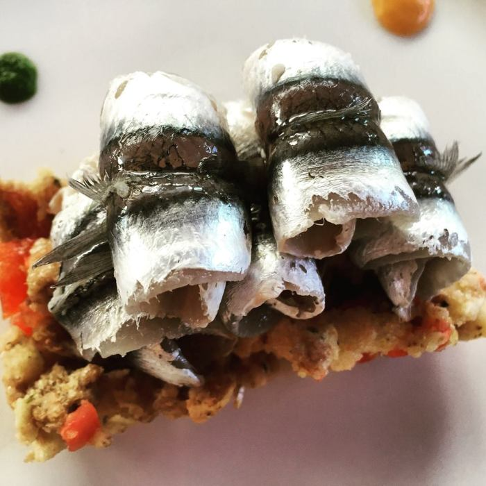 Le Tre Sorelle, alici marinate e acquasale