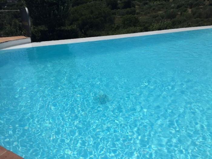 Le Tre Sorelle, piscina su olivi