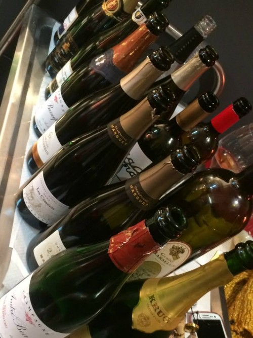 Le bottiglie del brindisi