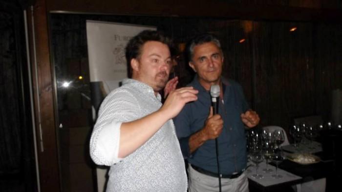 Luca Gardini ed Andrea Ferraioli