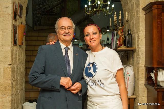 Maria Cacialli Pizzeria La figlia del Presidente il nuovo look. Antonio Pace e Maria Cacialli