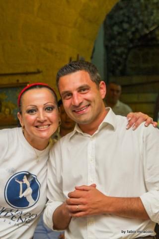 Maria Cacialli Pizzeria La figlia del Presidente il nuovo look. Con Vito Pagnotta Serro Croce