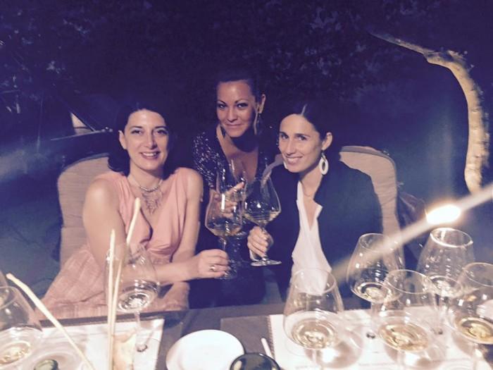 Marina Alaimo con Lorenza Scianna e Daniela Andinolfi