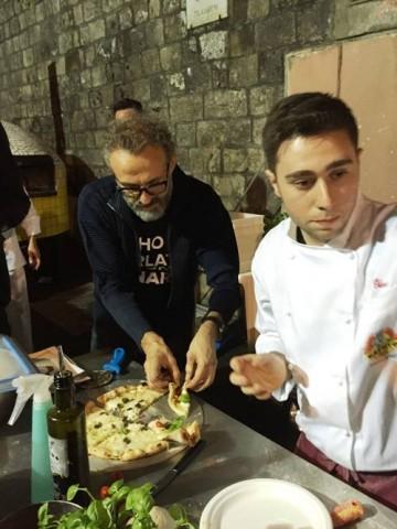 Massimo Bottura e Ciro Oliva