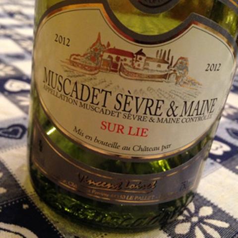 Muscadet Sèvre et Maine Sur Lie 2012 Château La Perrière