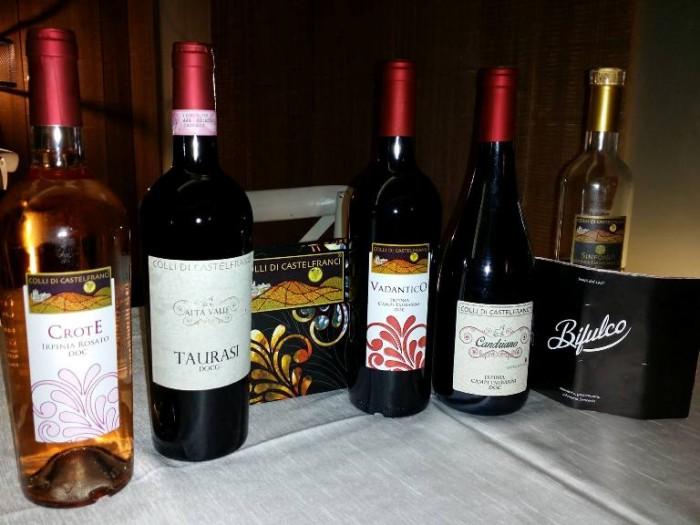 Na sera 'e maggio, i vini