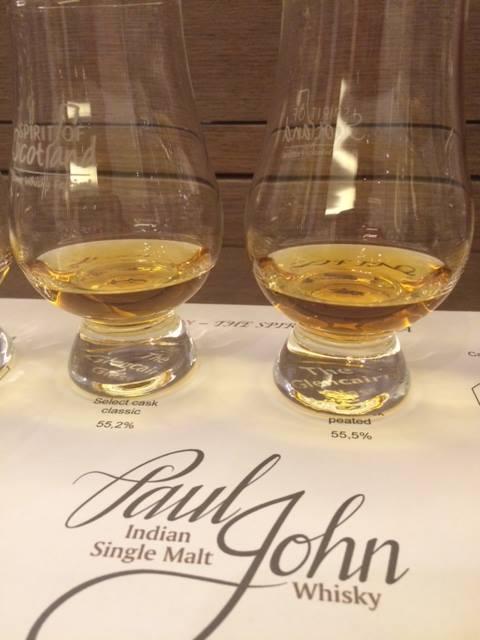 Paul John whisky, il particolare colore
