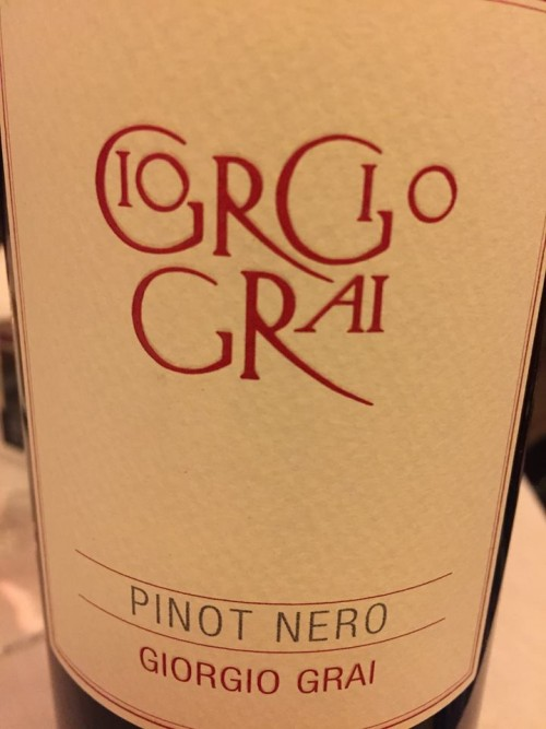 Pinot nero Giorgio Grai
