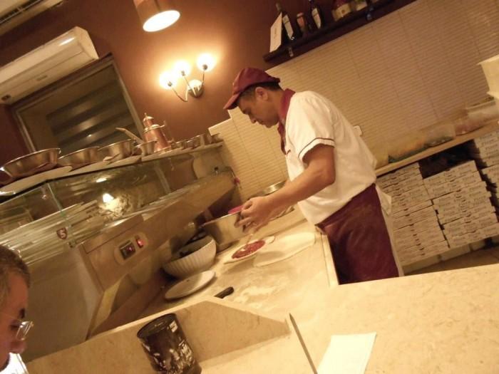 Pizza Mania, Aniello Spinelli all'opera