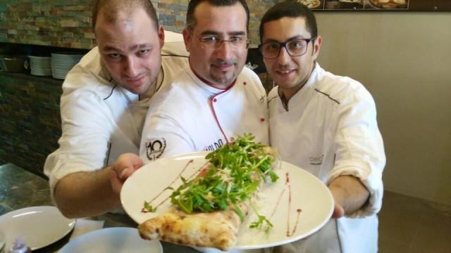 Pizzeria Degusta, Gianfranco Iervolino con Steven Brogan e Alessio Sisinno