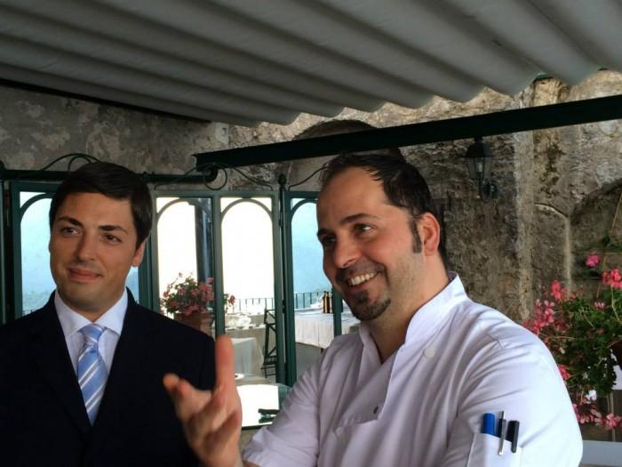 Rossellini's, Michele Deleo e il maitre