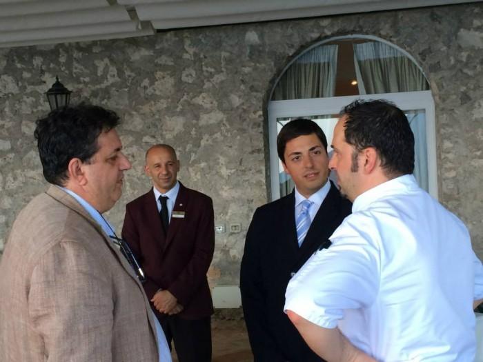 Rossellini's, con Michele Deleo e la sala