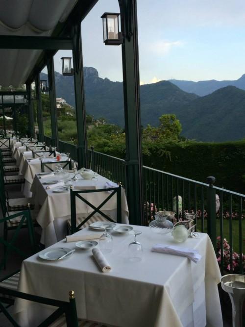 Rossellini's, i tavoli panoramici