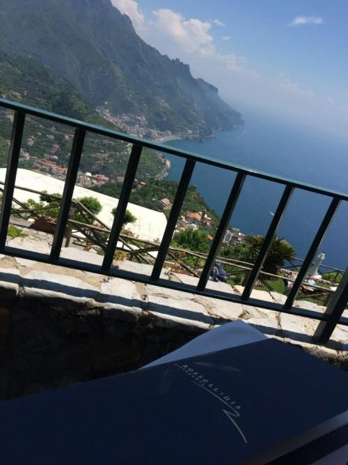 Rossellini's, il panorama dal tavolo
