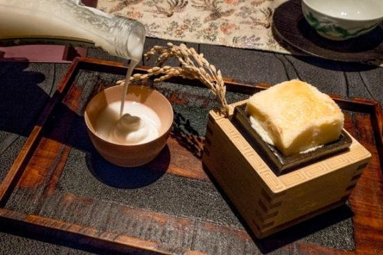 Ryugin, Sake caldo e sake freddo