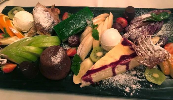 Tashkent, Basilic Mediterranean Restaurant & Lounge, frutta e dolci