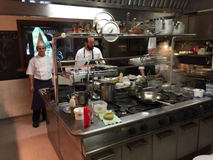 Taverna Estia, Francesco Sposito in cucina