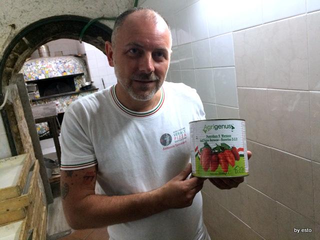 Trattoria Caprese al Vomero Antonio Tammaro e il pomodoro