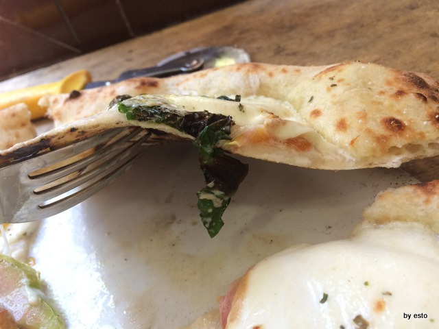 Trattoria Caprese al Vomero struttura  della pizza