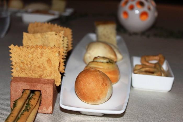 Vistamare, pane e grissini