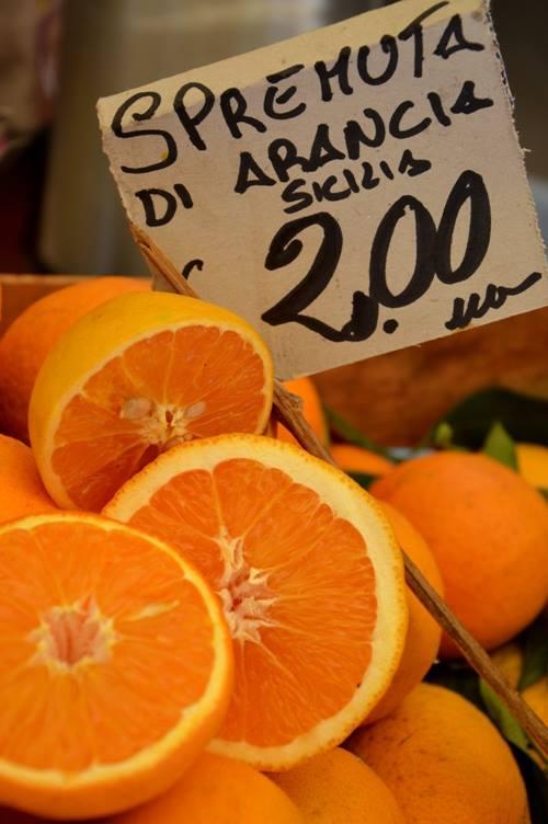 Vucciria, arance