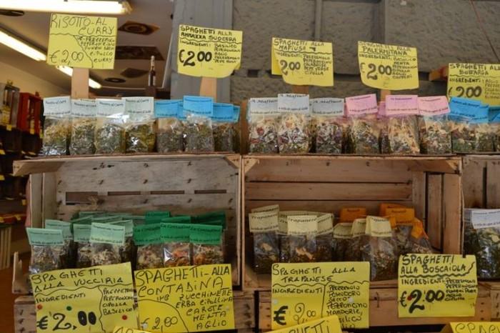 Vucciria, spezie e aromi