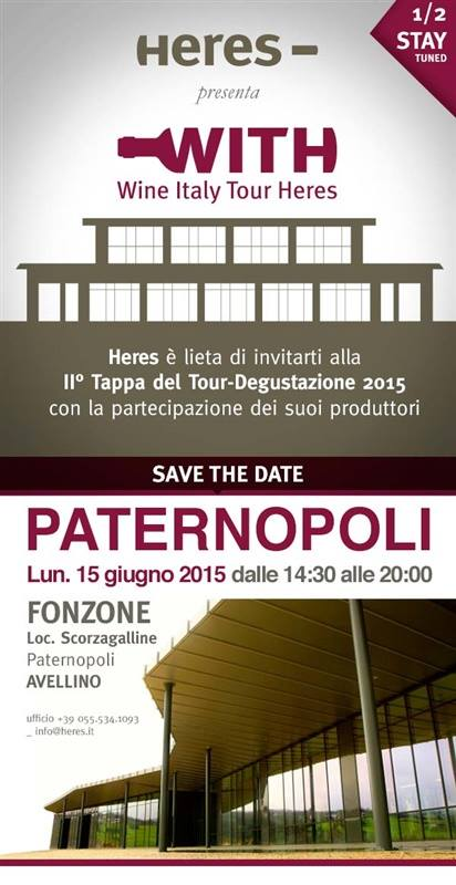 WITH - Wine Italy Tour HERES e FONZONE