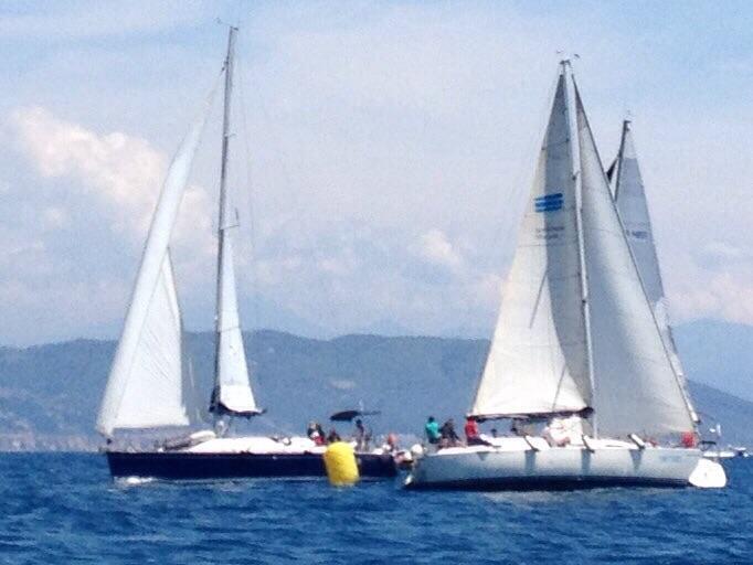 Maremagna 2015, un momento della regata